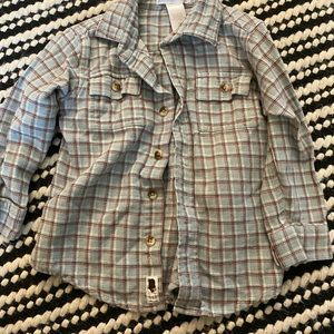 Adorable Janie and Jack boys button up